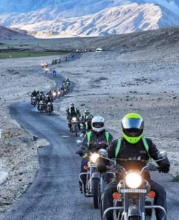 Manali Leh Manali Bike Trip