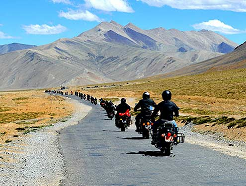 Leh Ladakh Bike Tour from Leh