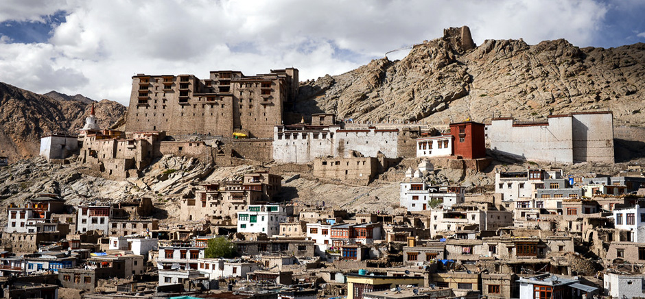 View of Old Leh City