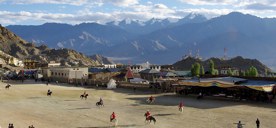 Polo Ground in Leh