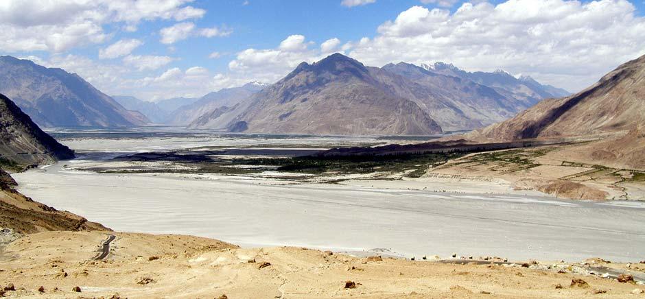 Landscapes Of Shyok Valley, Leh Ladakh