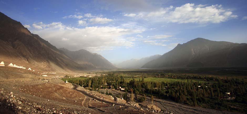 Landscapes of Shyok Valley, Leh Ladakh