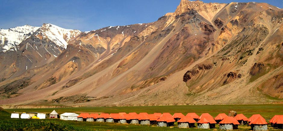 Camp Site in Sarchu, Himachal Pradesh