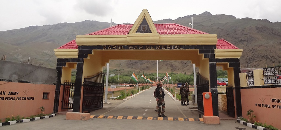 Entry of Drass War Memorial, Leh Ladakh