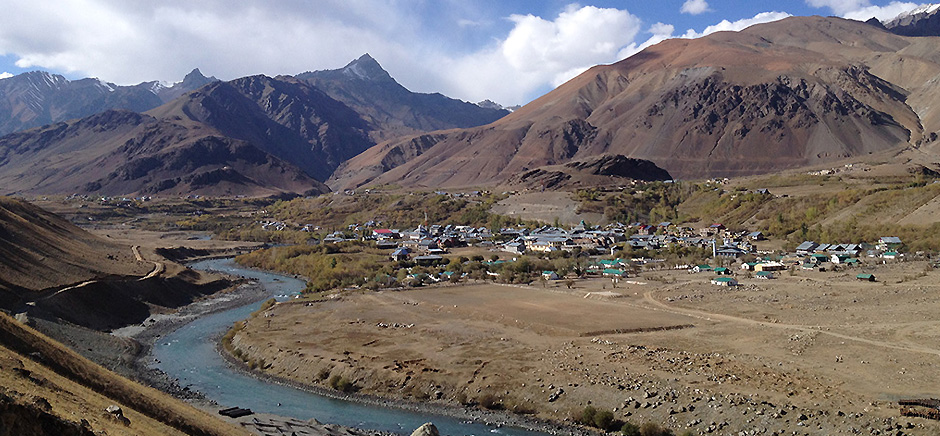 River Streams in Drass, Leh Ladakh