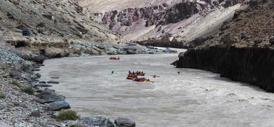 River Rafting in Zanskar, Leh Ladakh