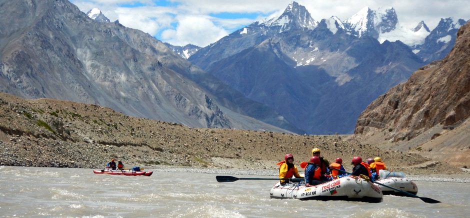 River Rafting in Zanskar River, Leh Ladakh