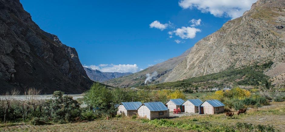 Camps in Jispa, Himachal Pradesh