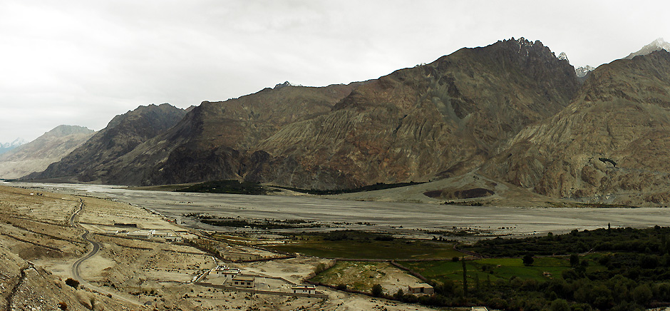 Landscapes of Panamik, Leh Ladakh