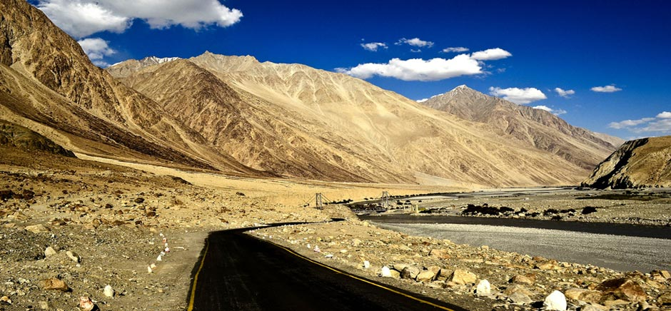 Roads of Panamik, Leh Ladakh