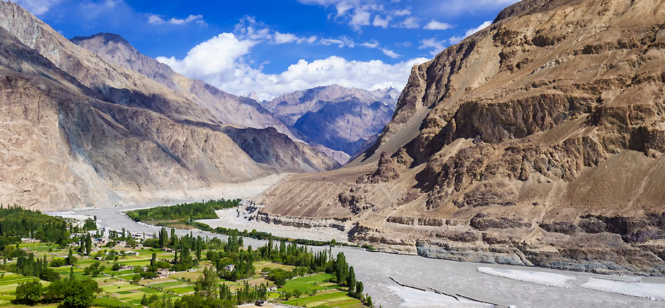 Turtuk Village in Nubra Valley, Leh Ladakh